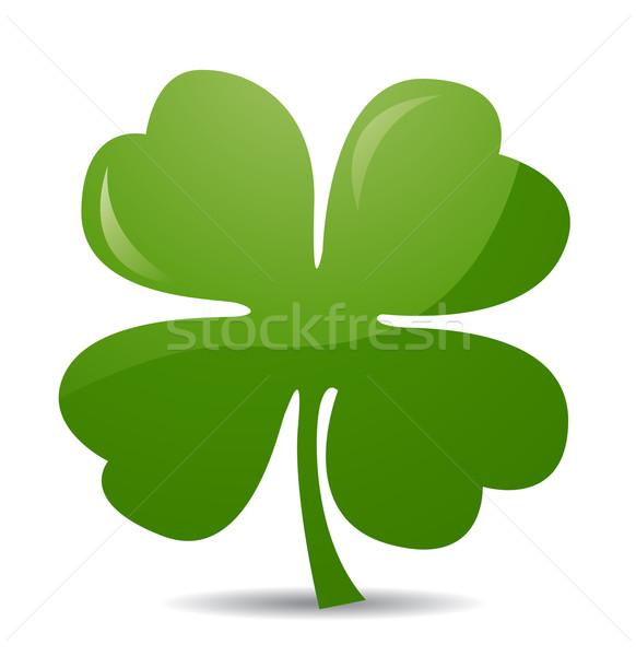 Four leaf clover Stock photo © nezezon