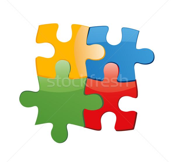 Puzzle Stock photo © nezezon