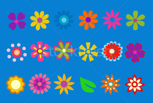 spring flower vector illustration Stock photo © nezezon