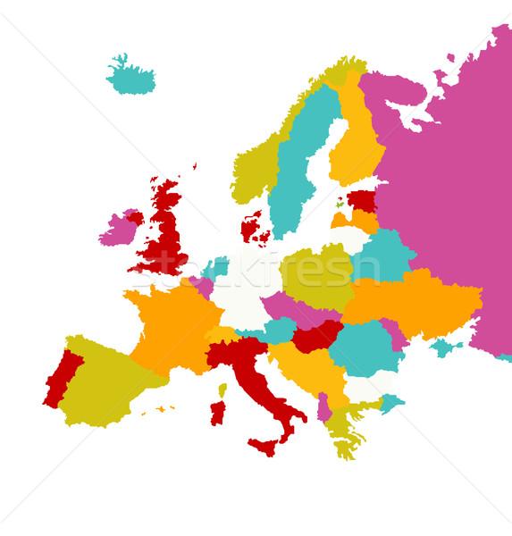 Europa Stock photo © nezezon