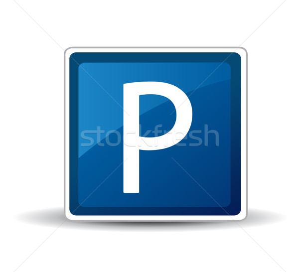 Parking Sign Stock photo © nezezon