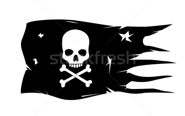 ベクトル 頭蓋骨 骨 顔 ボトル 頭 ストックフォト © nezezon