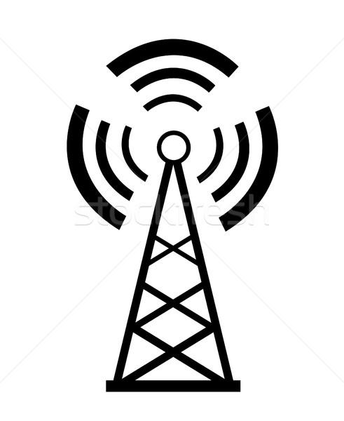 Transmitter icon  Stock photo © nezezon