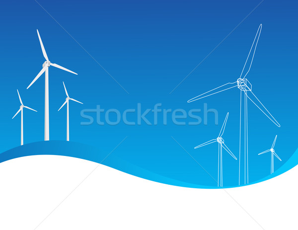 Wind power   Stock photo © nezezon