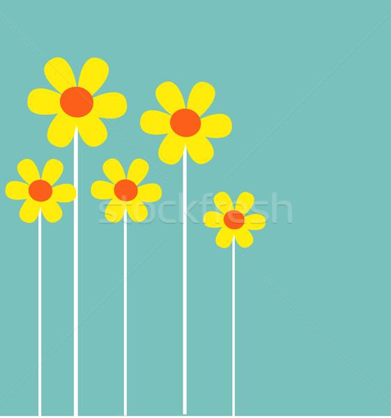 Colorat Flori De Primavara Primăvară Abstract