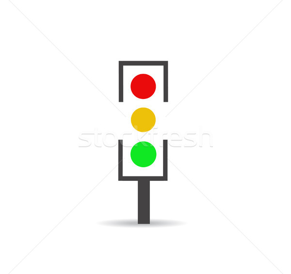 Traffic light Stock photo © nezezon