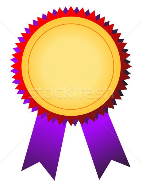 Aranyérem siker szalag játékok győzelem díj Stock fotó © nezezon