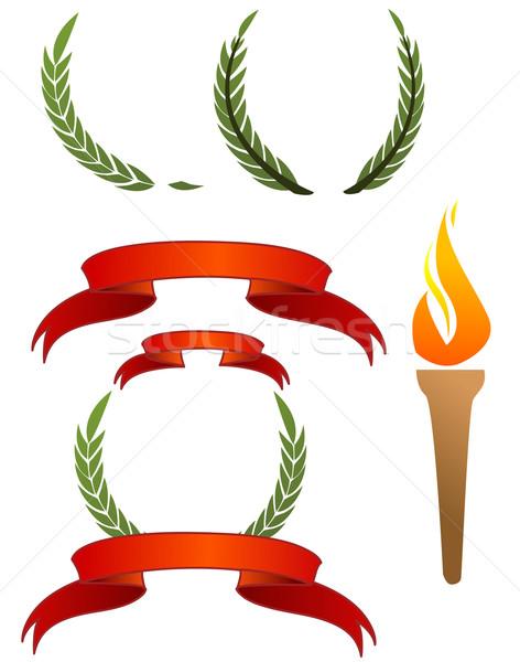 Olympic signs  Stock photo © nezezon