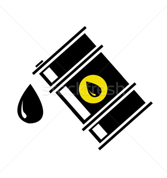 нефть баррель власти газ загрязнения экономики Сток-фото © nezezon