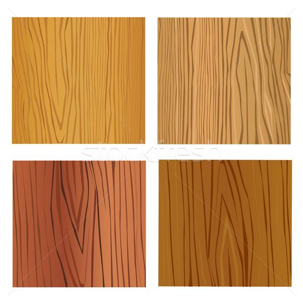 Vetas de la madera árbol naturaleza interior piso corte Foto stock © nezezon
