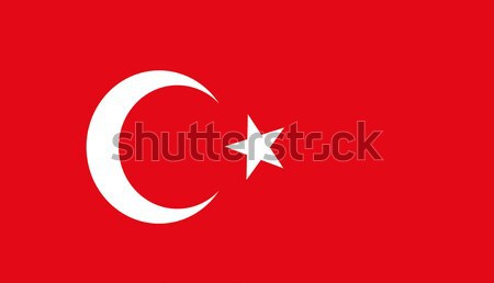 Vector Turquía bandera fondo color wallpaper Foto stock © nezezon