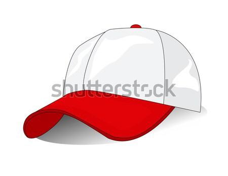 赤 トルコ語 帽子 黒 口ひげ ベクトル ストックフォト © nezezon