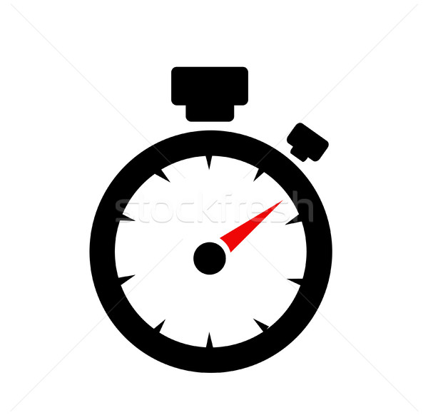 speedometer. abstract symbol of speed Stock photo © nezezon