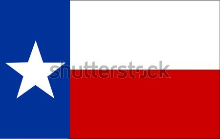 Vlag Texas teken star grafische zegel Stockfoto © nezezon