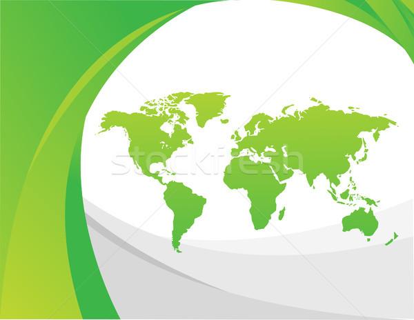 世界地図 テクスチャ インターネット クロック 地図 世界 ストックフォト © nezezon
