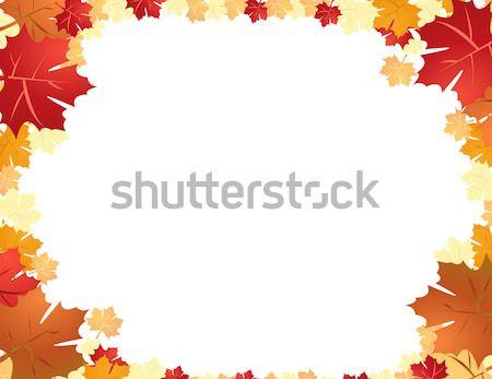 紅葉 ツリー 抽象的な 自然 秋 色 ストックフォト © nezezon