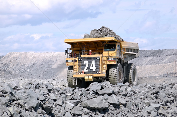 Big Mining Truck Stock photo © nialat