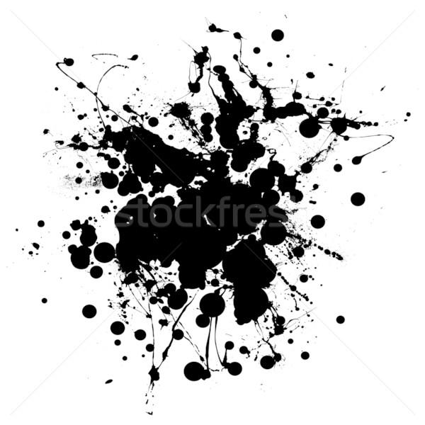 big blob splat Stock photo © nicemonkey