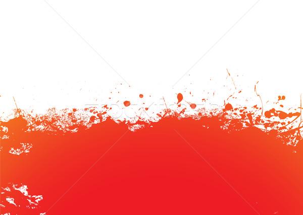 Orange splat band Stock photo © nicemonkey