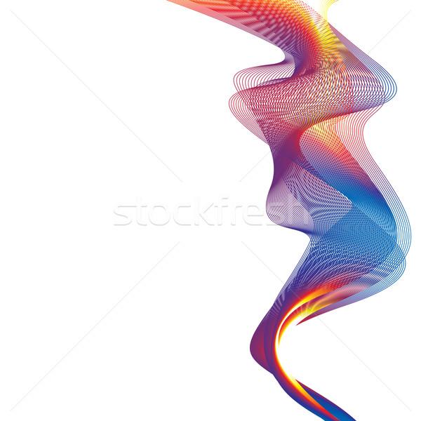 rainbow smoke background Stock photo © nicemonkey