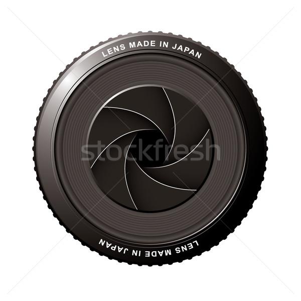 Lens shutter Stock photo © nicemonkey