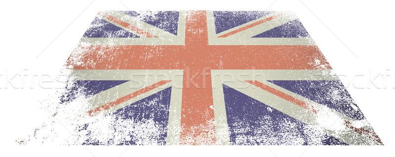 British flag flat Stock photo © nicemonkey
