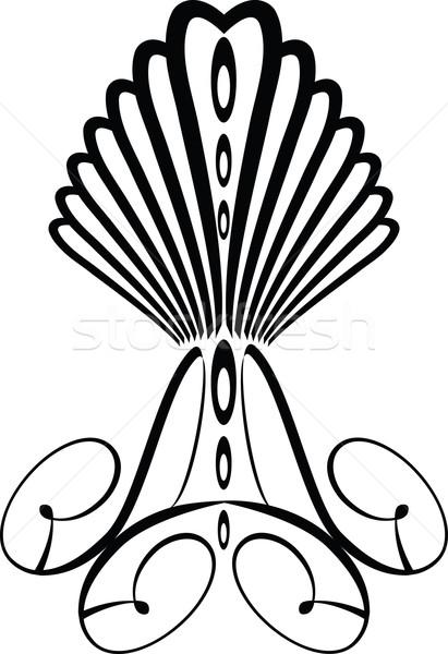 Goth taç dekorasyon belge tanıtım Stok fotoğraf © nicemonkey