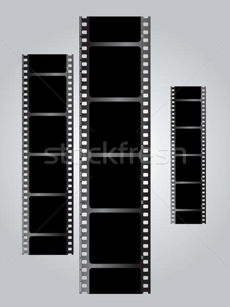 white film triple v gradient Stock photo © nicemonkey