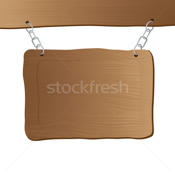 hanging sign post Stock photo © nicemonkey