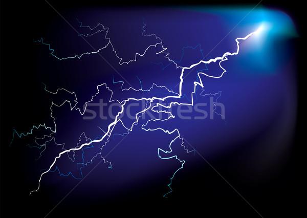 lightning strike Stock photo © nicemonkey
