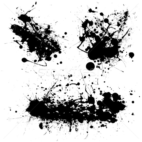 splat black trio Stock photo © nicemonkey