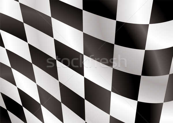 checkered flag flap Stock photo © nicemonkey