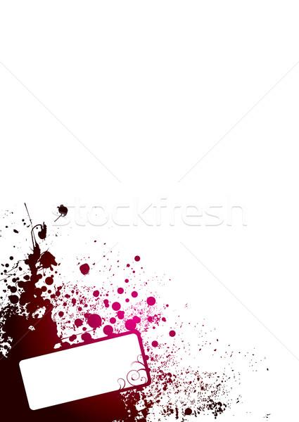белый углу аннотация красный комнату собственный Сток-фото © nicemonkey