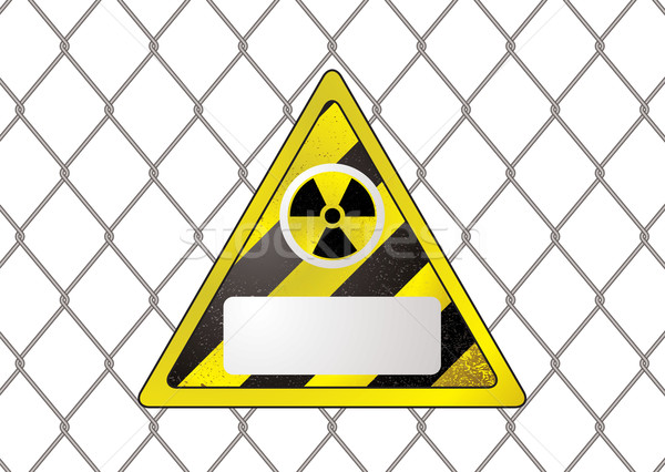 wire fence nuclear Stock photo © nicemonkey