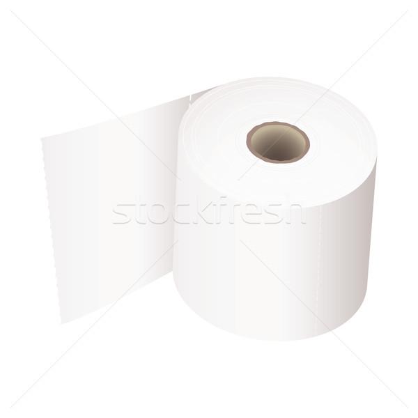 Toilet roll white Stock photo © nicemonkey