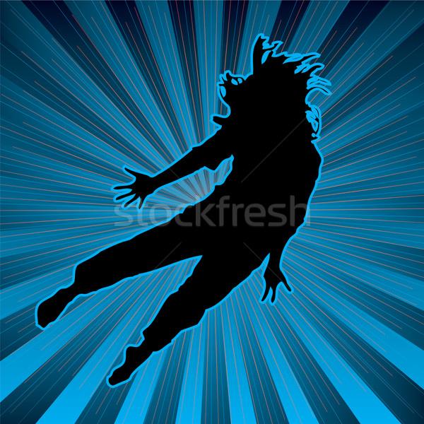 красочный молодой человек Dance Top человека Сток-фото © nicemonkey