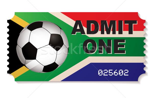 south africa football ticket Stock photo © nicemonkey