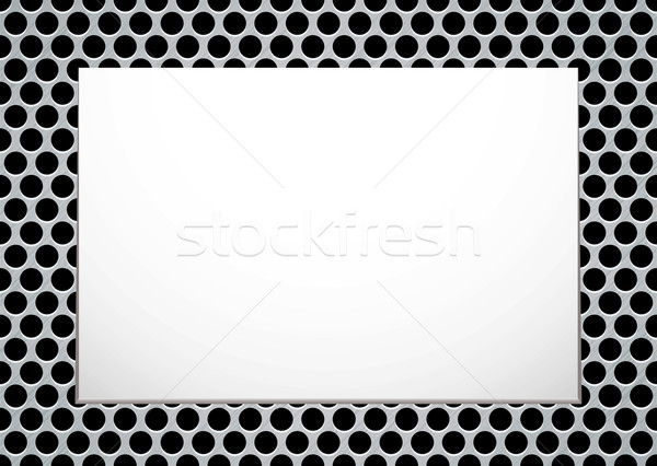 brushed metal picture Stock photo © nicemonkey