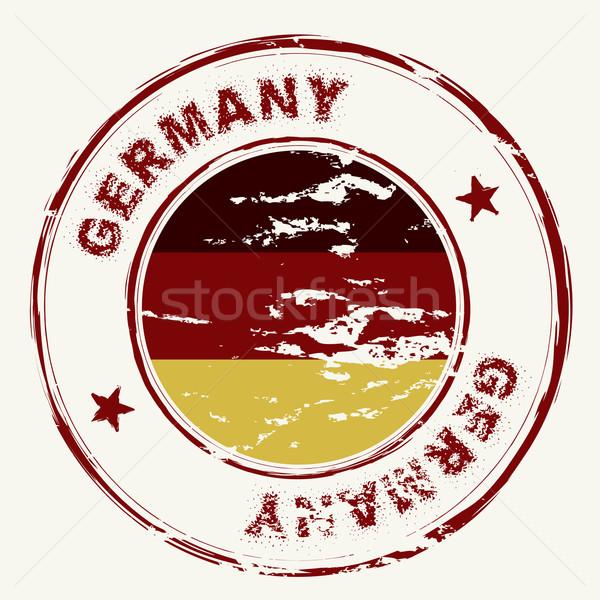 germany ink stamp Stock photo © nicemonkey