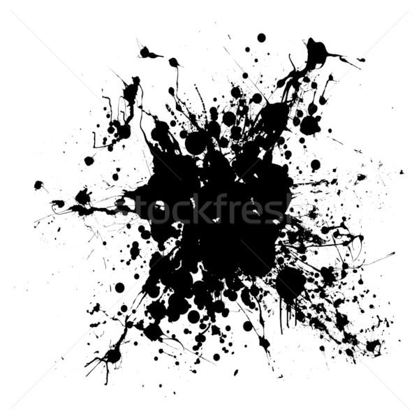 gothic grunge ink splat Stock photo © nicemonkey