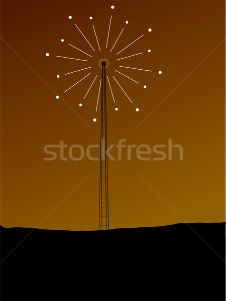 phone mast signal Stock photo © nicemonkey