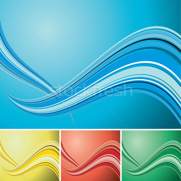 quad wave background Stock photo © nicemonkey