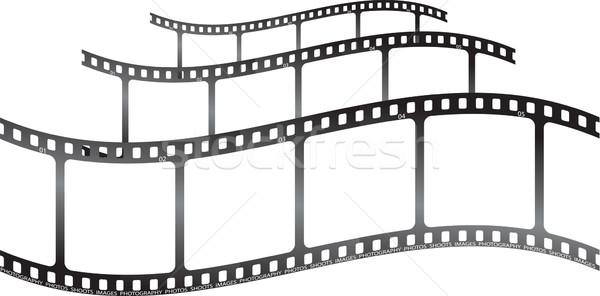 Film hullám gyűjtemény filmek film mozi Stock fotó © nicemonkey