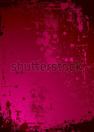 Hochrot rau schwarz abstrakten gotischen Stil Stock foto © nicemonkey