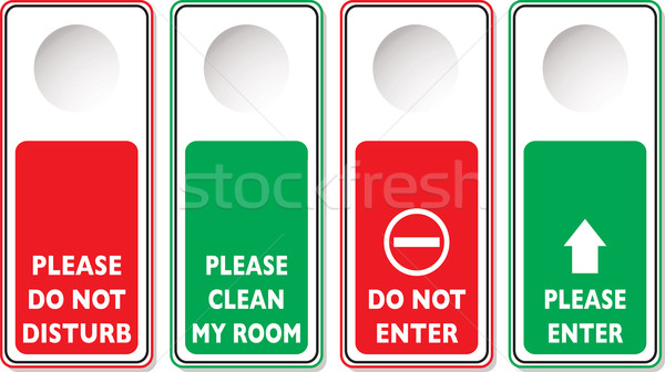 do not disturb Stock photo © nicemonkey