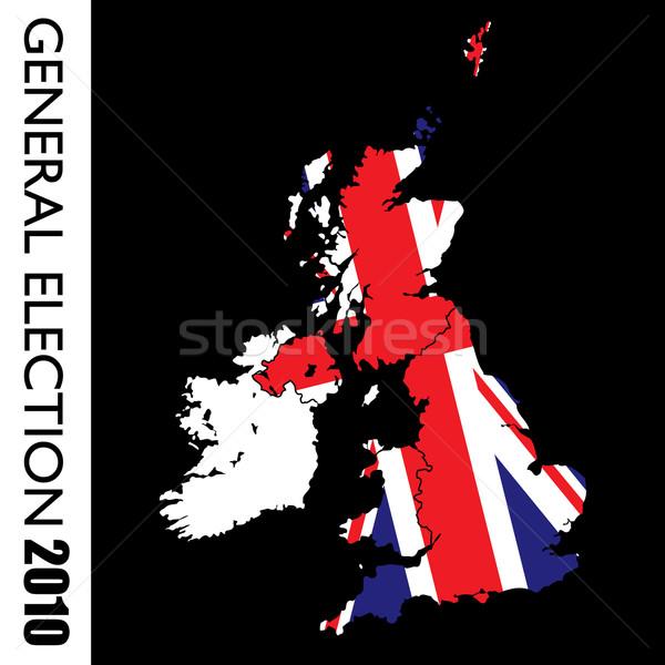 Algemeen verkiezing brits groot 2010 Stockfoto © nicemonkey