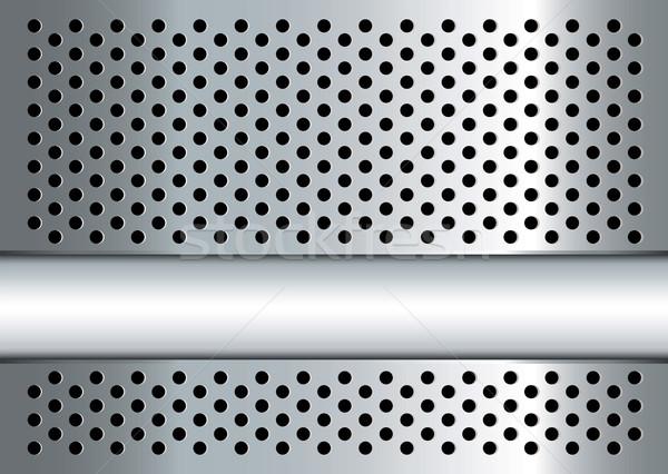 gratted metal banner Stock photo © nicemonkey