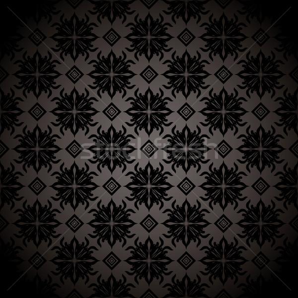 черный плитка повторять обои серый дизайна Сток-фото © nicemonkey