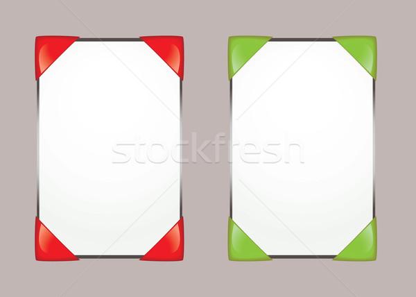 Paper notice board Stock photo © nicemonkey