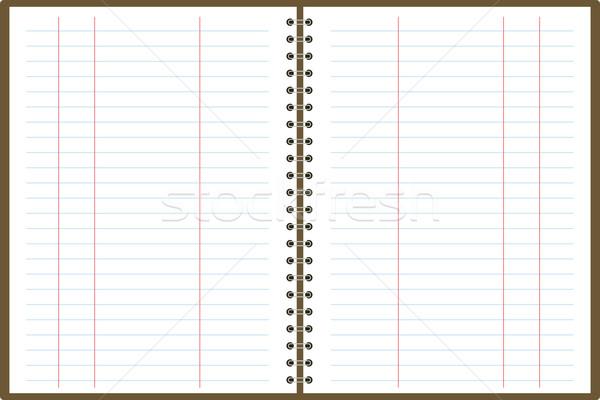 binder pad accounts Stock photo © nicemonkey